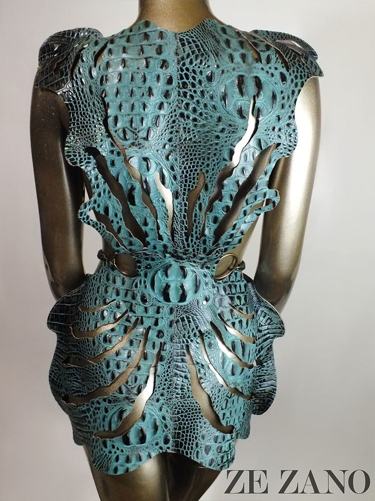 Amphibia Leather Dress